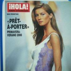 Coleccionismo de Revista Hola: REV. HOLA PRET-A-PORTER PRIM.-2000/PORT. GISÈLE BUNDCHEN,EUGENIA SILVA,V. BLUME,JAIDY M.. Lote 172658062
