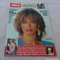 Coleccionismo de Revista Hola: HOLA Nº 2058-ROLLING STONE KEITH RICHARDS BODA 3 PAG.10 FOT COLOR-BROOKE SHIELDS/MICHAEL JACSON-1984. Lote 172663103