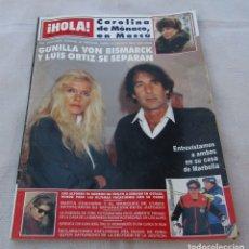 Coleccionismo de Revista Hola: HOLA Nº 2324-CHRISTOPHER LAMBERT 10 FOT.-SARAH FERGUSON.6 FOT-GUNILLA VON BISMARCK 6 PAG 10 FOT-1989. Lote 172663138