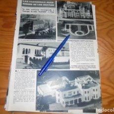 Coleccionismo de Revista Hola: RECORTE : LAS FASTUOSAS MANSIONES DE LOS BEATLES. HOLA, MARZO 1984 (). Lote 172672407
