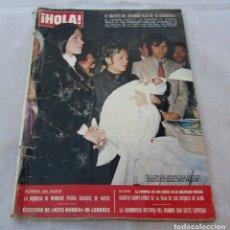 Coleccionismo de Revista Hola: HOLA Nº1476-MANUEL BENITEZ EL CORDOBES-LIZ TAYLOR/RICHARD BURTON-ROGER MOORE EL SANTO -DETALLE 1976. Lote 172747102