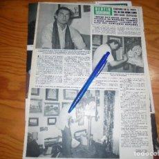 Coleccionismo de Revista Hola: RECORTE : BERTIN OSBORNE CANTARA COMO INVITADO EN FESTIVAL DE SAN REMO. HOLA, FBRERO 1983 (). Lote 172748773