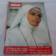 Coleccionismo de Revista Hola: HOLA Nº 1413-SOFIA LOREN-JEREZ FIESTA SHERRY-MARLENE DIETRICH-RITA PAVONE/TEDDY RENO - DETALLE 1971. Lote 172750260