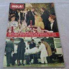 Coleccionismo de Revista Hola: HOLA Nº 2062-GRACIA DE MONACO-DIANA DE GALES-ELTON JOHN BODA-LOS PECOS-PACO DE LUCIA - DETALLE- 1984. Lote 172780348