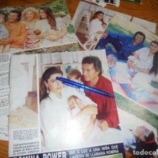Coleccionismo de Revista Hola: RECORTE : ROMINA POWER, MADRE DE OTRA HIJA. HOLA, JULIO 1987 (). Lote 172820864