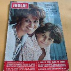 Coleccionismo de Revista Hola: HOLA N º1358 - CLAUDIA CARDINALE - SKORPIOS PARAISO DE JAKCIE ONASIS - PETER SELLERS BODA-SEP..1970. Lote 173671989