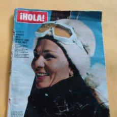 Coleccionismo de Revista Hola: HOLA N º 1362 - GRETA GARBO - POMPIDOU Y SU ESPOSA EN AFRICA - VITTORIO GASSMAN - FEBRERO 1971. Lote 173673220