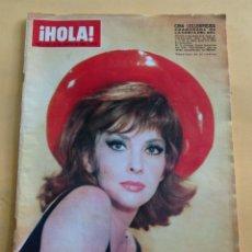 Coleccionismo de Revista Hola: HOLA N º 1148 - GINA LOLLOBRIGIDA - ROMINA POWER - RAQUEL WELCH - JOHNNY HALLYDAY - AGOSTO 1966. Lote 173675787