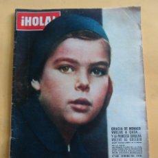 Coleccionismo de Revista Hola: HOLA N º 1108 - GRACIA DE MONACO VUELVE A CASA Y CAROLINA AL COLEGIO - MUSICA BOBY SOLO - NOV. 1965. Lote 173676445