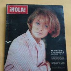 Coleccionismo de Revista Hola: HOLA N º 1108 - PEPA FLORES MARISOL SE HA CONVERTIDO EN UNA CHICA YE-YE - PABLO VI - OCTUBRE 1965. Lote 173676623