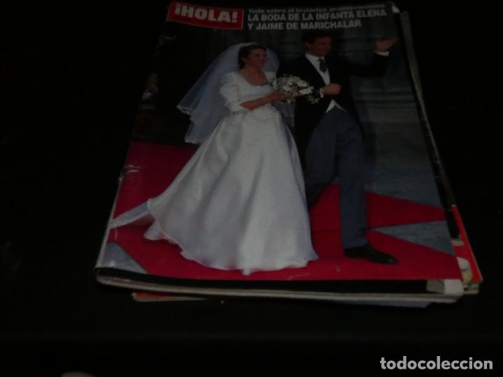 REVISTA HOLA EN ESTADO ACEPTABLE 2642 30 MARZO 1995 BODA INFANTA ELENA (Coleccionismo - Revistas y Periódicos Modernos (a partir de 1.940) - Revista Hola)