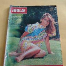 Coleccionismo de Revista Hola: HOLA Nº 1144 - CATHERINE SPAAK - LUCI BAINES JOHNSON - FRANK SINATRA Y MIA FARROW BODA JULIO- 1966. Lote 173821574