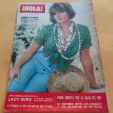 Coleccionismo de Revista Hola: HOLA Nº 1149 - AGNES SPAAK - LADY BIRD - AUDREY HEPBURN - DAVID NIVEN Y SU FAMILIA - SEPTIEMBRE 1966. Lote 173822099