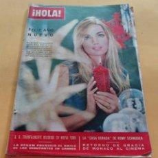 Coleccionismo de Revista Hola: HOLA Nº 1114 - BETSY BELL - LA BEGUM - ROMY SCHNEIDER - GRACIA DE MONACO -CASILDA VARELA -ENERO 1966. Lote 173822265