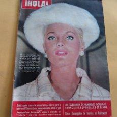 Coleccionismo de Revista Hola: HOLA Nº 1116 - VIRNA LISI - JAQUELINE KENEDY - GRACIA Y RANIERO DE MONACO - EL CORDOBES -ENERO 1966. Lote 173831662