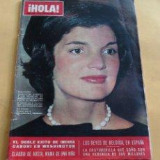 Coleccionismo de Revista Hola: HOLA Nº 1129 - JACQUELINE KENNEDY Y LOS PRINCIPES DE MONACO EN SEVILLA - INDIRA GANDHI -ABRIL 1966. Lote 173832087