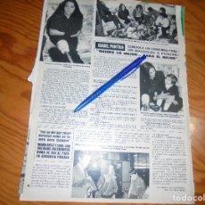 Coleccionismo de Revista Hola: RECORTE : ISABEL PANTOJA CONVOCA CONCURSO PARA MAUSOLEO A PAQUIRRI. HOLA, FBRERO 1985 (). Lote 173840744