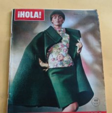 Coleccionismo de Revista Hola: HOLA Nº 1150 ESP. MODA DIOR-NINA RICCI-LAROCHE AS. BASTIDA-CASTILLO-BALMAIN...OTOÑO/INVIERNO 1966/67. Lote 173855727