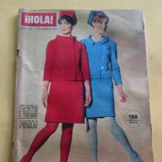 Coleccionismo de Revista Hola: HOLA Nº 1123 ESP. MODA PIEL BALMAIN-LANVIN-GUY LARROCHE-FORQUET-RICCI-DIOR - PRIMAVERA/VERANO 1966. Lote 173855872