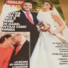 Coleccionismo de Revista Hola: REVISTA HOLA / 3768 / LA EMOTIVA BODA DE KIKO E IRENE CON ISABEL PANTOJA / 2016 / NUEVA.. Lote 173874124