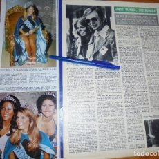 Collezionismo di Rivista Hola: RECORTE : MARJORIE WALLACE, MISS MUNDO, DESTRONADA. HOLA, MARZO 1974 (). Lote 173985695