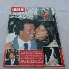 Coleccionismo de Revista Hola: HOLA Nº 2164-LUIS RODRIGUEZ EL PUMA 7 PAG.14 FOT-JULIO IGLESIAS/CHABELI 4 PAG.7 FOT.-CHALLENGER-1986. Lote 173991563