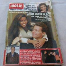Coleccionismo de Revista Hola: HOLA Nº 2381-ROB LOWE 3 PAG.6 FO -NIEVES HERRERO 3 PAG. 4 FOT.-PRINCIPES DE GALES 7 PAG.21 FOT-1990. Lote 173992787