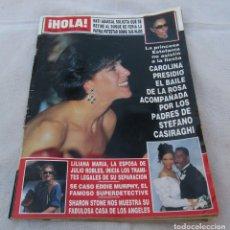 Coleccionismo de Revista Hola: HOLA Nº 2538- NATI ABASCAL-SHARON STONE 12PAG.15 FOT-EDDIE MURPHY-CAROLINA DE MONACO-AL PACINO- 1993. Lote 173993080