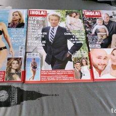 Coleccionismo de Revista Hola: HOLA - LOTE 3 REVISTAS. Lote 174003845