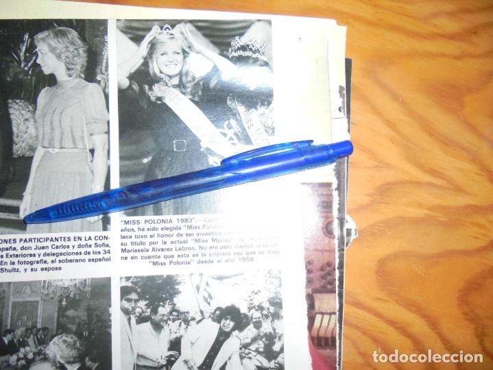 RECORTE : LIDIA WASIAK, MISS POLONIA 1983. HOLA, SPTMBRE 1983 () (Coleccionismo - Revistas y Periódicos Modernos (a partir de 1.940) - Revista Hola)