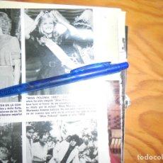 Coleccionismo de Revista Hola: RECORTE : LIDIA WASIAK, MISS POLONIA 1983. HOLA, SPTMBRE 1983 (). Lote 174056745