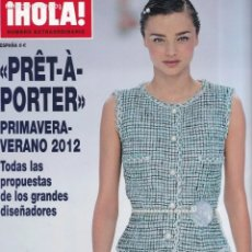 Coleccionismo de Revista Hola: ¡HOLA! - PRÊT-À-PORTER - PRIMAVERA-VERANO - 2012 - NUMERO EXTRAORDINARIO. Lote 206565378