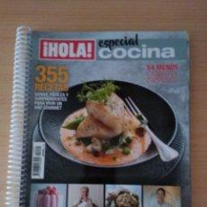 Coleccionismo de Revista Hola: HOLA COCINA N 15029. ESPECIAL COCINA RECETARIO 2019. Lote 174146565