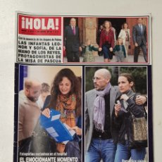 Coleccionismo de Revista Hola: REVISTA HOLA Nº 3533. 18 ABRIL 2012.FRANCISCO RIVERA Y JESSICA BUENO/ ETLMA ORTIZ. TDKR64. Lote 174206255
