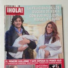 Coleccionismo de Revista Hola: REVISTA HOLA Nº 3567. 12 DICIEMBRE 2012. EL PRINCIPE GUILLERMO Y KATE ESPERAN SU PRIMER HIJO. TDKR64. Lote 174207303