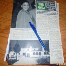 Coleccionismo de Revista Hola: RECORTE : ISABEL PANTOJA VENDE CANTORA A UN EMPRESARIO MEXICANO. HOLA, ABRIL 1992 (). Lote 174290027
