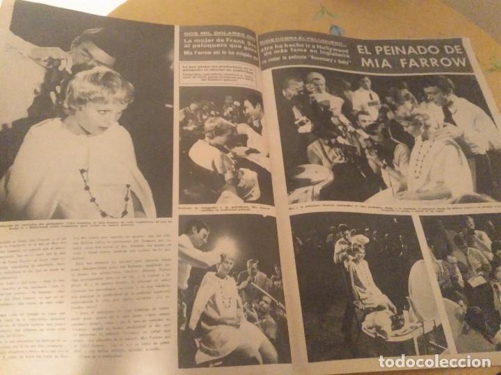 Coleccionismo de Revista Hola: ANTIGUA REVISTA HOLA Nº 1202 AÑO 1967 EL MANAGER DE LOS BEATLES MUERTO, MIA FARROW, ROMINA POWER - Foto 4 - 174395540
