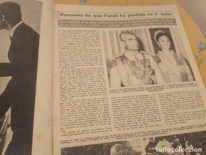 Coleccionismo de Revista Hola: ANTIGUA REVISTA HOLA Nº 1202 AÑO 1967 EL MANAGER DE LOS BEATLES MUERTO, MIA FARROW, ROMINA POWER - Foto 10 - 174395540