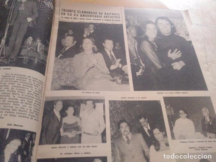 Coleccionismo de Revista Hola: ANTIGUA REVISTA HOLA Nº 1676 AÑO 1976 CARLOS DE INGLATERRA , LOLA FLORES , RAPHAEL , LOLITA - Foto 3 - 174405409