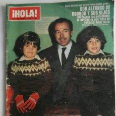 Coleccionismo de Revista Hola: REVISTA HOLA! N ° 1845 ENERO 1980. Lote 174421237