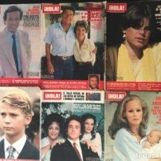 Coleccionismo de Revista Hola: LOTE 40 REVISTA HOLA 1980 . Lote 174511178