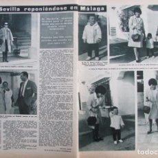 Coleccionismo de Revista Hola: RECORTE REVISTA HOLA Nº 1112 1965 CARMEN SEVILLA. Lote 175474573