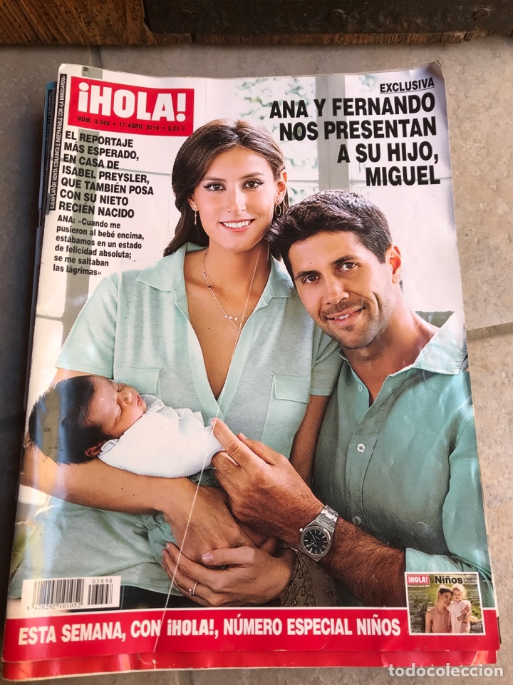 REVISTA HOLA. ABRIL 2019 (Coleccionismo - Revistas y Periódicos Modernos (a partir de 1.940) - Revista Hola)