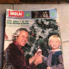 Coleccionismo de Revista Hola: REVISTA HOLA. DICIEMBRE 1981. Lote 175884580