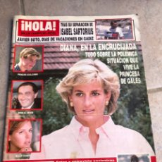 Coleccionismo de Revista Hola: REVISTA HOLA. AGOSTO 1997. Lote 175884728