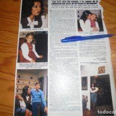 Coleccionismo de Revista Hola: RECORTE : PROXIMA BODA DE ELSA BAEZA. HOLA, ENERO 1982 (). Lote 175922702