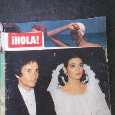 Coleccionismo de Revista Hola: HOLA 1706-1977-FINLEY-ROMY SCHNEIDER-MARIA JOSE CANTUDO-MIGUEL BOSE-ROCIO DURCAL. Lote 176353495