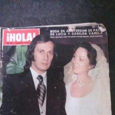 Coleccionismo de Revista Hola: PACO DE LUCIA-CAROLINA DE MONACO-ROMY SCHNEIDER-AUDREY HEPBURN-JANE BIRKIN-ROLLING STONES-. Lote 176356320