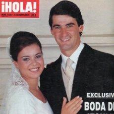 Coleccionismo de Revista Hola: HOLA 3026 JESULIN DE UBRIQUE Y MARIA JOSE CAMPANARIO BODA EN SEVILLA MUY NUEVA. Lote 176376615