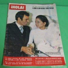 Coleccionismo de Revista Hola: HOLA Nº 1379 - JULIO IGLESIAS / ISABEL PREYSLER BODA 13 PAGINAS + 47 FOTOGRAFIAS 30 DE ENER0 1971. Lote 176460697